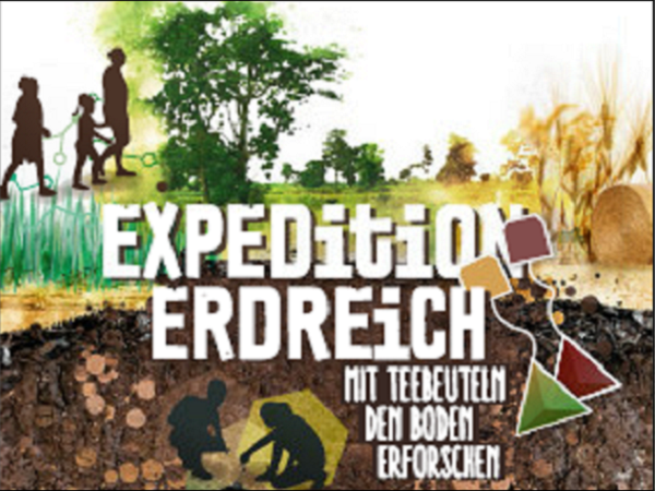 Ausschnitt Cover Flyer Expedition Erdreich